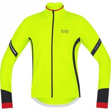 Maillot GORE BIKE WEAR POWER 2.0 THERMO Manches Longues Jaune Fluo/Noir