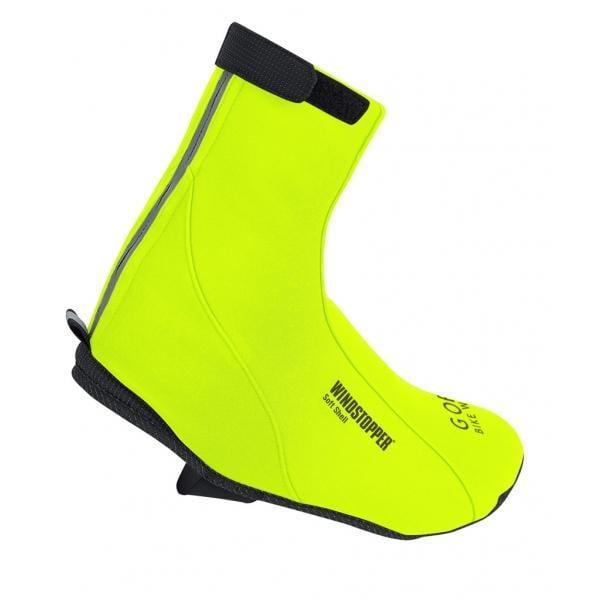 Cubrezapatillas GORE BIKE WEAR ROAD WINDSTOPPER SOFT SHELL Amarillo Fluorescente