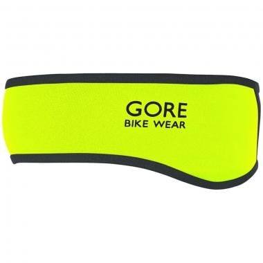 Bandeau GORE BIKE WEAR UNIVERSAL WINDSTOPPER SOFT SHELL Jaune Fluo