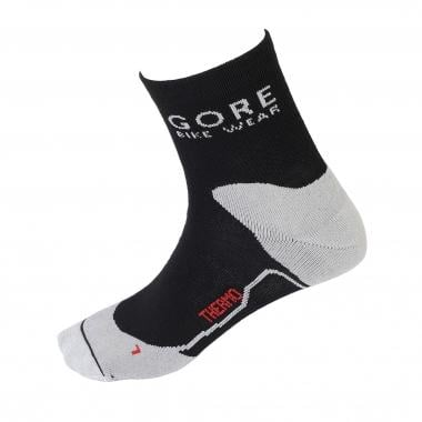 Calcetines GORE BIKE WEAR COUNTDOWN THERMO Negro/Blanco