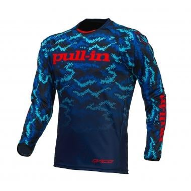 Maillot PULL IN BMX Mangas largas Azul/Rojo 2016