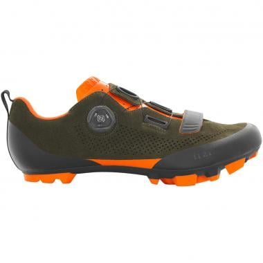 Chaussures VTT FIZIK X5 TERRA SUEDE Vert/Orange