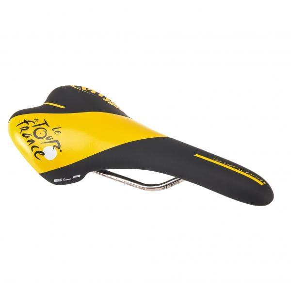 Tour de France Pumpe schwarz//gelb