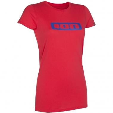 T-Shirt ION LOGO Donna Rosso