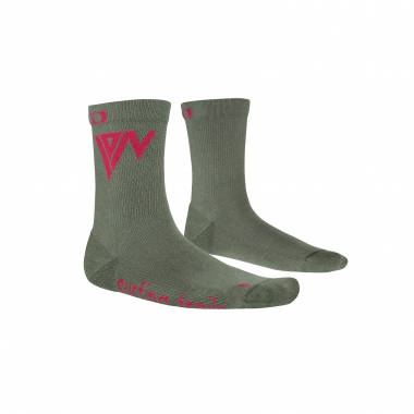 Calcetines ION MID POLE Verde