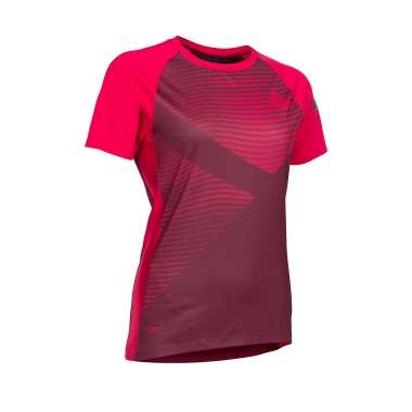 Maillot ION TRAZE_AMP Mujer Mangas Cortas Rojo 2017