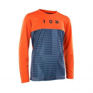 Maillot ION SCRUB AMP MESH Enfant Manches Longues Orange/Bleu 2021