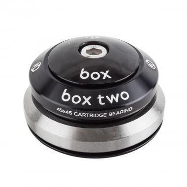 """Jeu de Direction BOX COMPONENTS TWO Intégré Alu 1-1/8"""" 1,5"""" 2 Bagues Noir"""