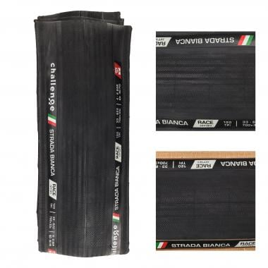 Pneu CHALLENGE STRADA BIANCA RACE 700x33c Souple