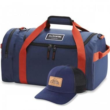 Reisetasche DAKINE EQ BAG 51L Blau + Kappe DAKINE NORTHERN LIGHTS Blau