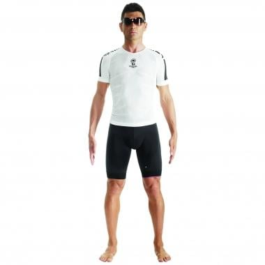 Sous-Maillot ASSOS SKINFOIL SUMMER EVO7 Manches Courtes Blanc