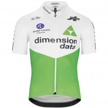 Maillot ASSOS TEAM DIMENSION DATA Manches Courtes Blanc 2019