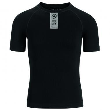 Camiseta interior técnica ASSOS SKINFOIL SPRING FALL Mangas cortas Negro