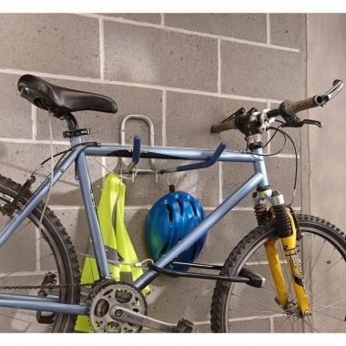 Gancho de bicicleta para la pared MOTTEZ Plegable + Cable antirrobo