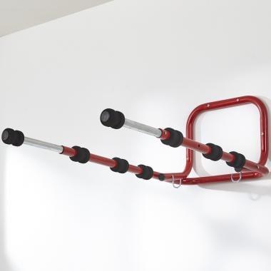 Suporte de Arrumação para Bicicleta MOTTEZ Parede Rebatível (4 Bicicletas)