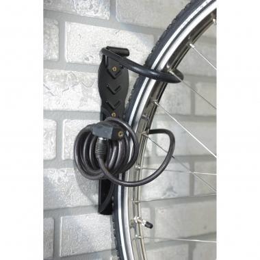 Gancho de pared MOTTEZ para bicicleta con placa
