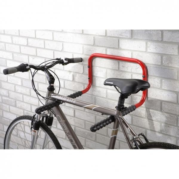 mottez 2 bike wall rack probikeshop. Black Bedroom Furniture Sets. Home Design Ideas