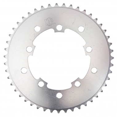 Corona MCS 5 tornillos Aluminio Plata