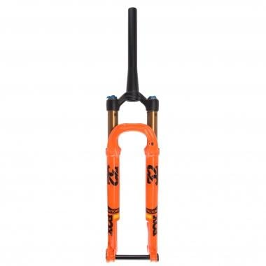 "Horquilla FOX RACING SHOX 32 SC FLOAT FACTORY 29"" 100 mm FIT4 Tubo cónico Eje Kabolt 15 mm Boost Naranja 2017"
