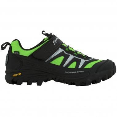 Sapatos de BTT SPIUK COMPASS Preto/Verde 2016