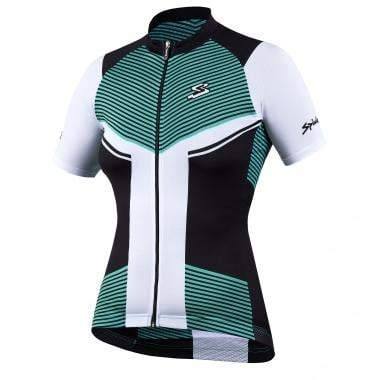 Maillot SPIUK PERFORMANCE Mujer Mangas cortas Negro/Verde 2017