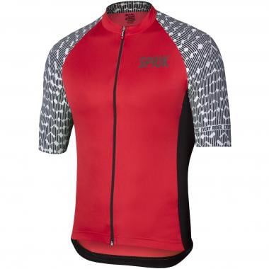 Maillot SPIUK TOP TEN Manches Courtes Rouge