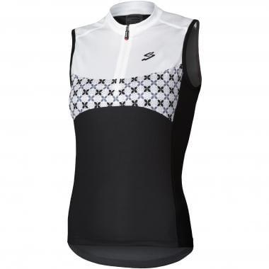 Maillot SPIUK RACE Femme Sans Manches Noir/Blanc