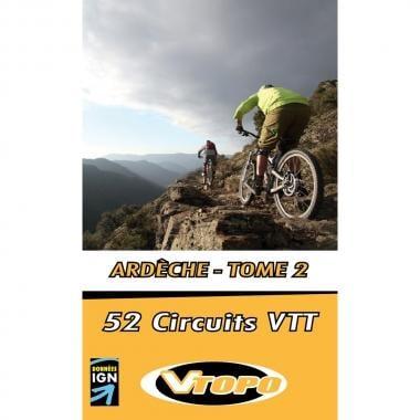 Topo Guide VTT VTOPO ARDECHE Tome 2