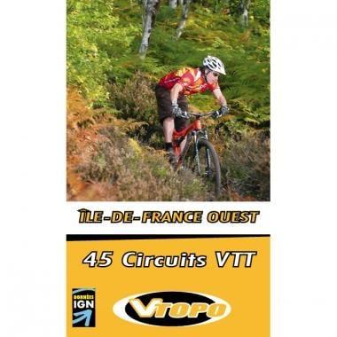 Topo Guide VTT VTOPO ILE-DE-FRANCE OUEST