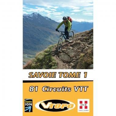 Topo Guide VTT VTOPO SAVOIE Tome 1
