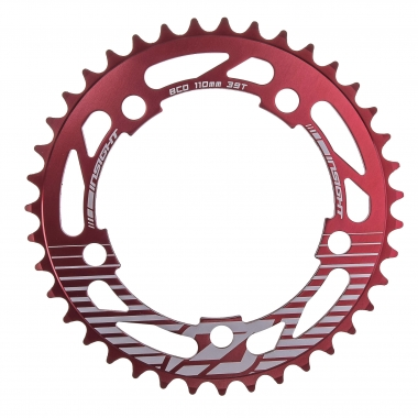 Couronne INSIGHT 5 Trous 110 mm Rouge