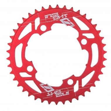 Couronne INSIGHT 4 Trous 104 mm Rouge