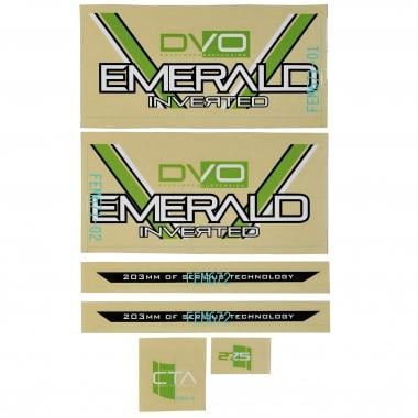 Planche de Stickers DVO EMERALD GREEN 275
