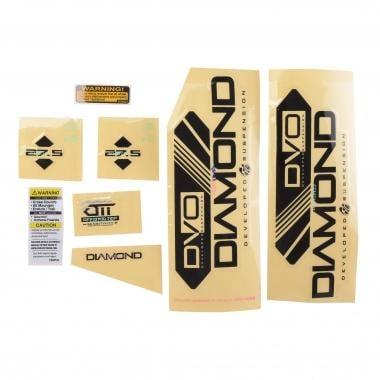 "Stickers pour Fourche DVO DIAMOND 29"" Noir"