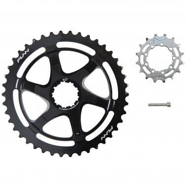 Kit de Conversion 40/42 Dents FUNN pour Cassette 10V Shimano avec Pignon 16 Dents Noir