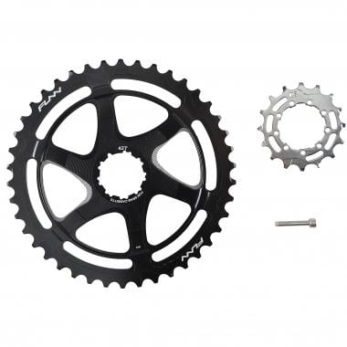 FUNN 40/42 Teeth Conversion Kit for 10 Speed Sram Cassette with 16 Tooth Cog Black