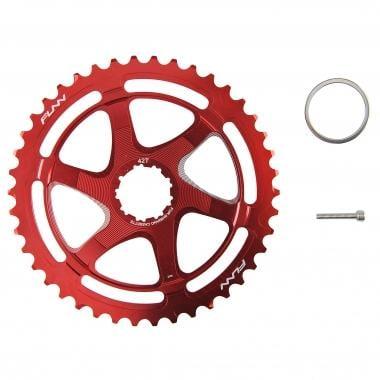 Kit de Conversion 40/42 Dents FUNN pour Cassette 10V Shimano Rouge