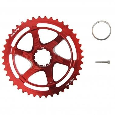 FUNN 40/42 Teeth Conversion Kit for 10 Speed Sram Cassette Red