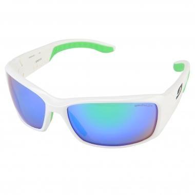 JULBO RUN Sunglasses White/Green Iridium J3701111 2016