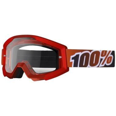 Masque 100% STRATA FIRE RED Écran Clear