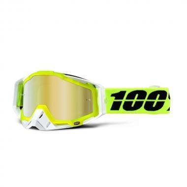 Gafas máscara 100% RACECRAFT SOLAR Lente espejo oro 2016