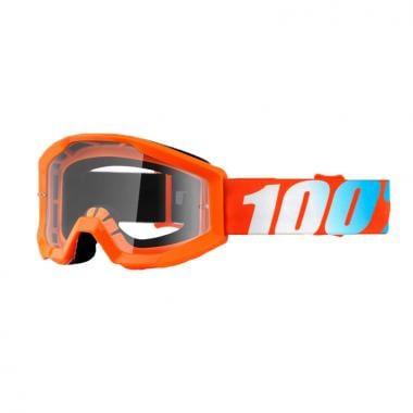 Masque 100% STRATA Orange Écran Transparent