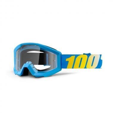 Gafas máscara 100% STRATA Niño Azul Lente transparente