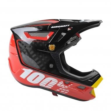 Casque 100% AIRCRAFT BI-TURBO Rouge 2016