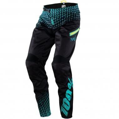 Pantaloni 100% R-CORE SUPRA Nero/Blu 2017