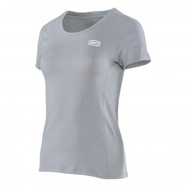 T-Shirt 100% SPRINT TECH Donna Maniche Corte Grigio 2017