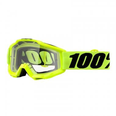 Masque 100% ACCURI FLUO YELLOW Enfant Écran Transparent