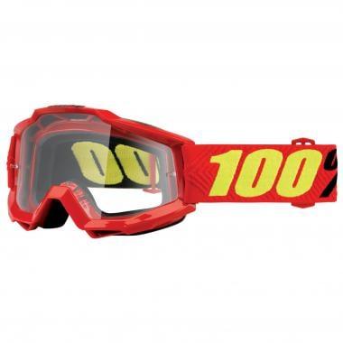 Masque 100% ACCURI SAARINEN Rouge Écran Transparent