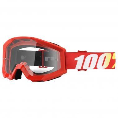 Masque 100% STRATA FURNACE Rouge Écran Transparent