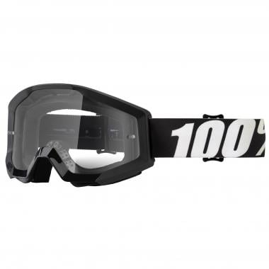 Masque 100% STRATA OUTLAW Noir Écran Transparent